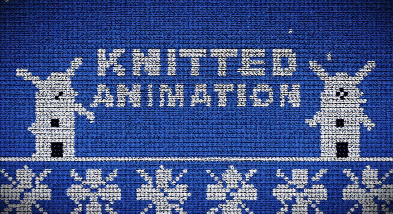 ホワイトデーは編み物でお返ししよう!!AEで編み物が動くアニメーション!