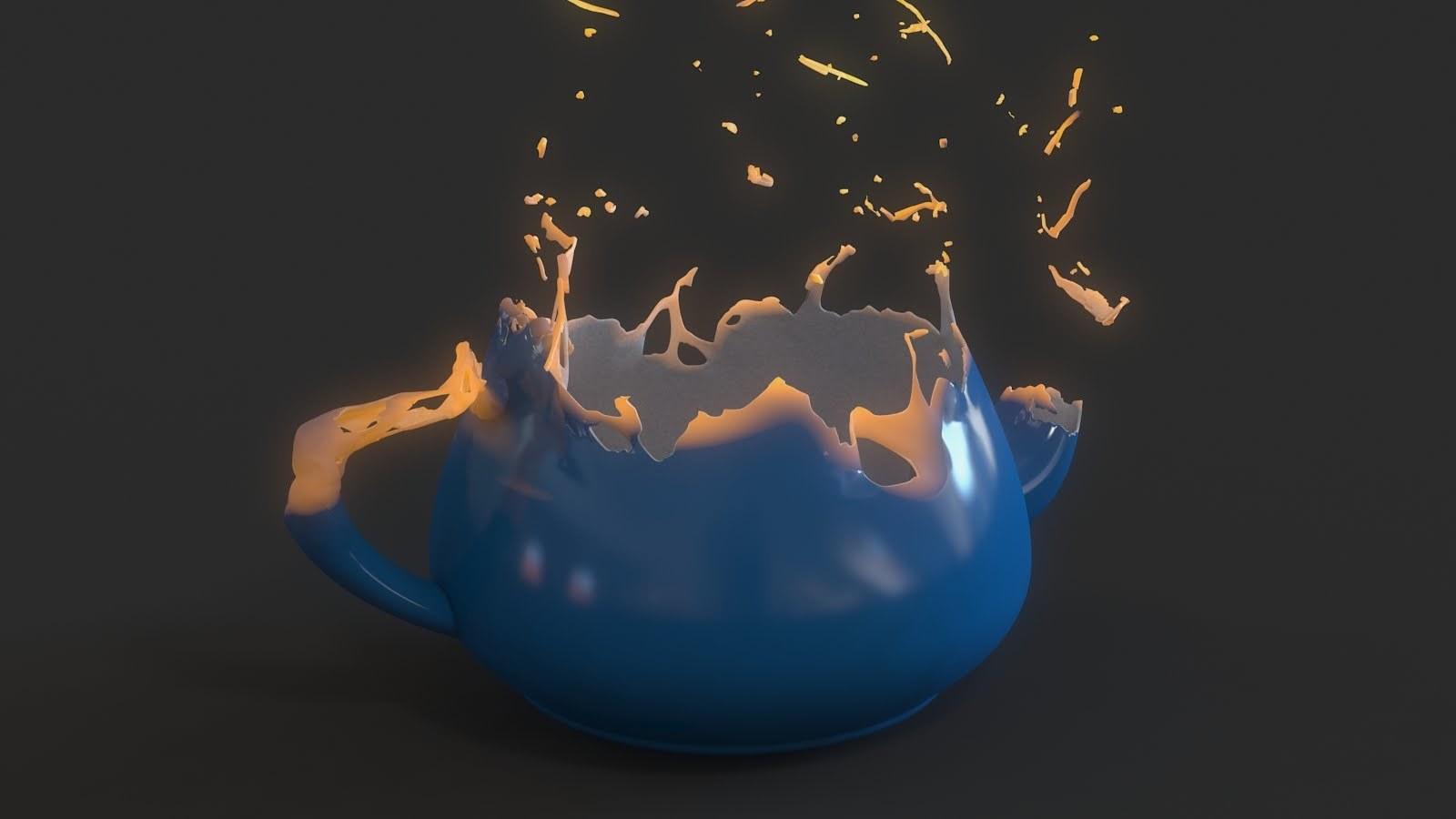 3dsMaxを使って溶解エフェクトを作成するチュートリアル!!