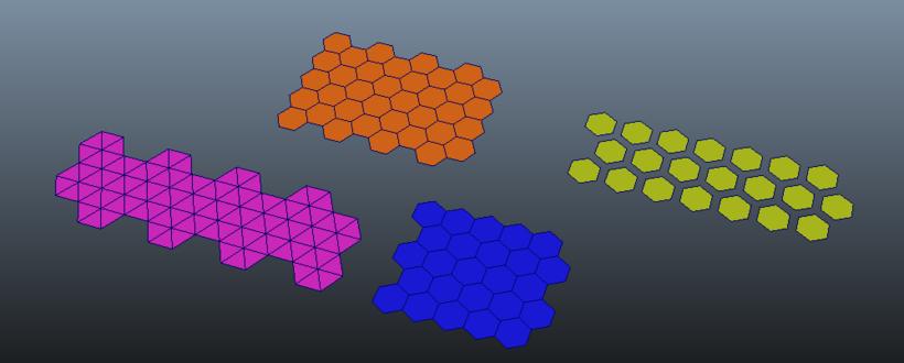 1クリックで六角形を作る!!Hexagon Grid Creatorの紹介!!